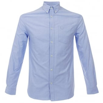 Fred Perry Heavy Oxford Shirt Sky M5144 444