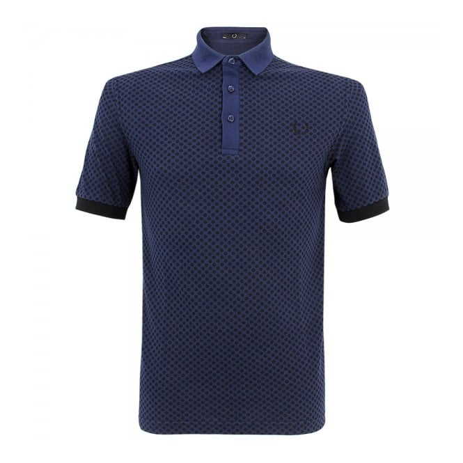 Fred Perry Laurel Wreath Fred Perry Laurel industrial French Navy Polo Shirt M5101 143