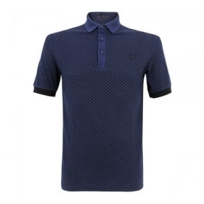 Fred Perry Laurel industrial French Navy Polo Shirt M5101 143