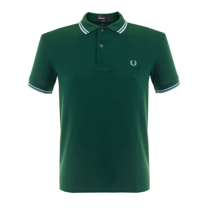 Fred Perry Authentic Fred Perry Twin Tipped Ivy Pique Polo Shirt M3600 A56
