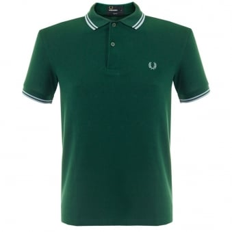 Fred Perry Twin Tipped Ivy Pique Polo Shirt M3600 A56