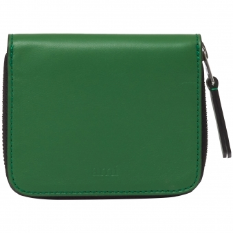 Green Zipped Wallet