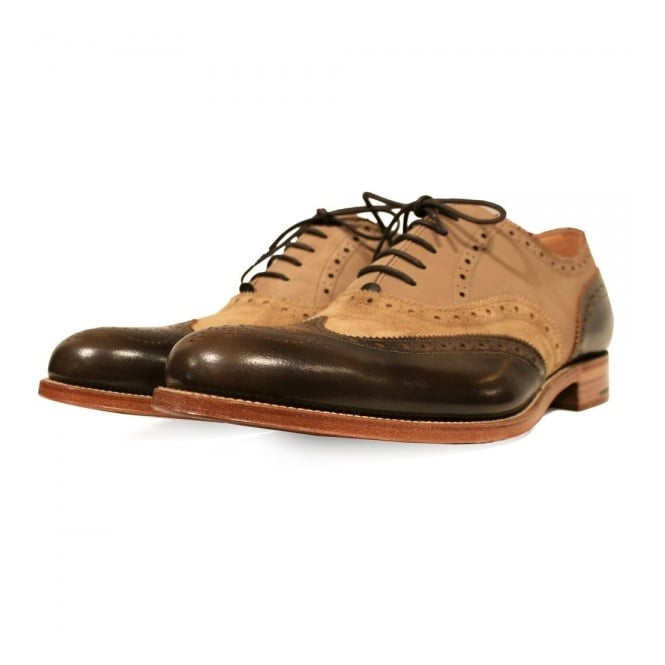 Grenson X Stuarts London G Lab Pickled Brogue Shoe