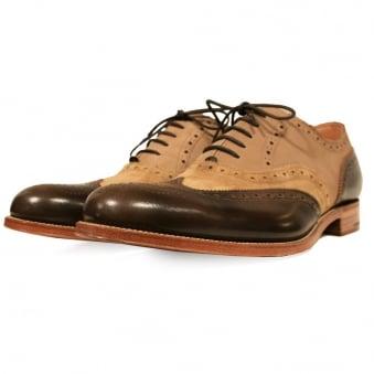 Grenson X Stuarts London G Lab Pickled Brogue Shoe
