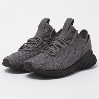 Grey Four Tubular Doom Sock Primeknit