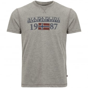 Grey Solin Short Sleeve T-Shirt