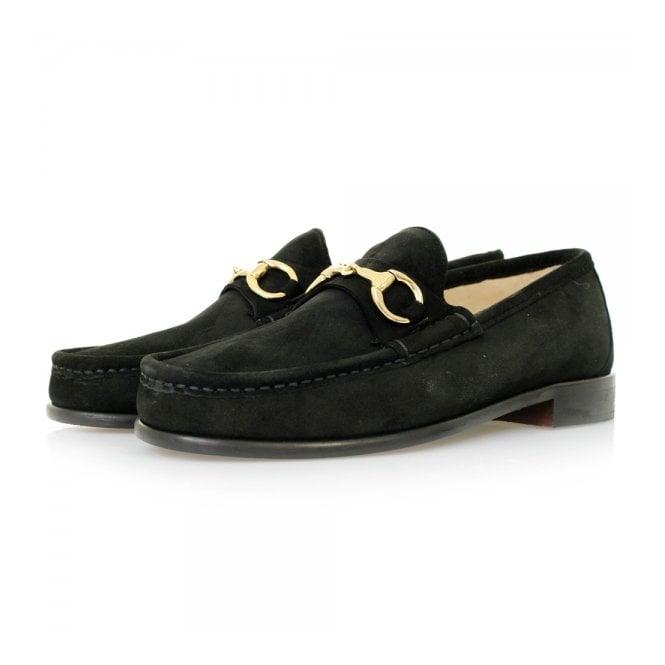 Horatio Beaufoy Black Suede Shoes BLS1005