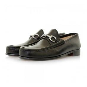 Horation Beaufoy Black Leather Shoes BLK1002