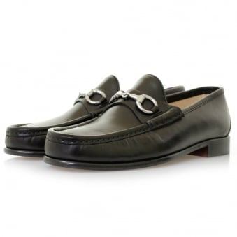 Horation Beaufoy Black Leather Shoes BLK1002