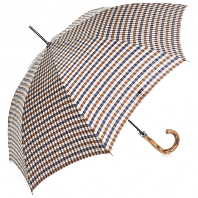 Aquascutum Housecheck Walker Umbrella