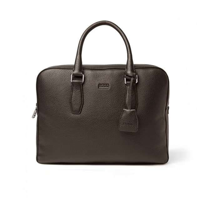 BOSS Hugo Boss Hugo Boss Black Briefcase Gardo Dark Brown 50297559 201