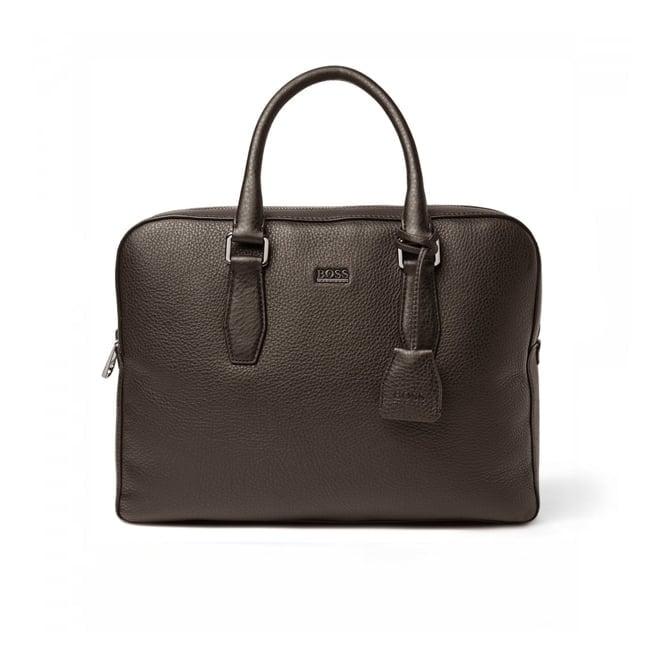 BOSS Hugo Boss Hugo Boss Black Briefcase Gardo Dark Brown 50297559 201