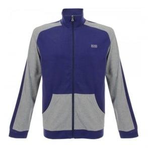 Hugo Boss Black Jacket Zip Dark Blue Track Top 50283198