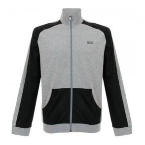 Hugo Boss Black Jacket Zip Medium Grey Track Top 50283198
