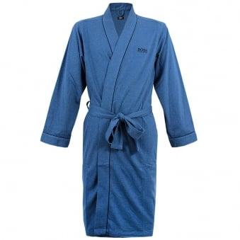 Hugo Boss Black Kimono Open Blue Robe 50229070