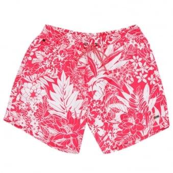 Hugo Boss Black Piranha Pink Swim Shorts 50286755