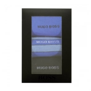 Hugo Boss Black S 3P Design Box Triple Pack Dark Blue Socks 50288231
