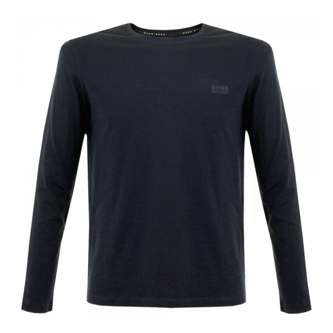 BOSS Hugo Boss Hugo Boss Black Shirt RN LS Navy T-Shirt 50297317