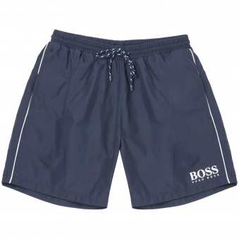Hugo Boss Black Starfish BM Navy Swim Shorts 50220844