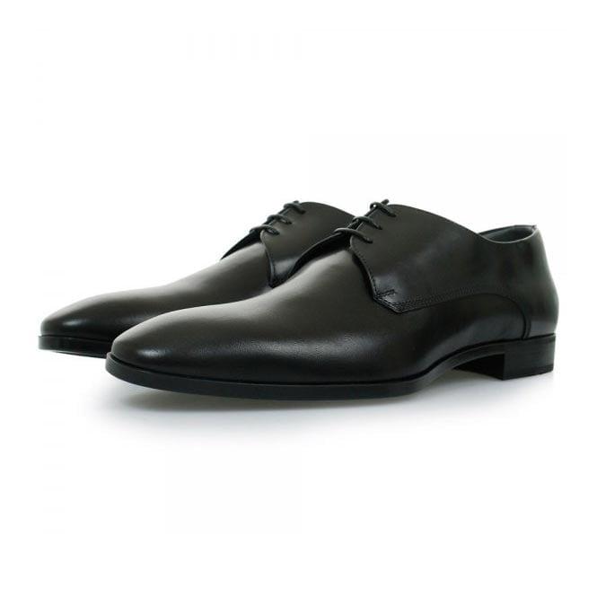BOSS Hugo Boss Hugo Boss Black Urbat Black Leather Shoes 50298455
