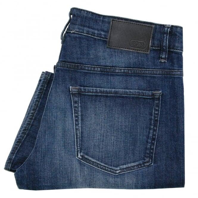 Boss Green Hugo Boss C-Delaware 1 Dark Blue Slim Fit Jeans 50320165