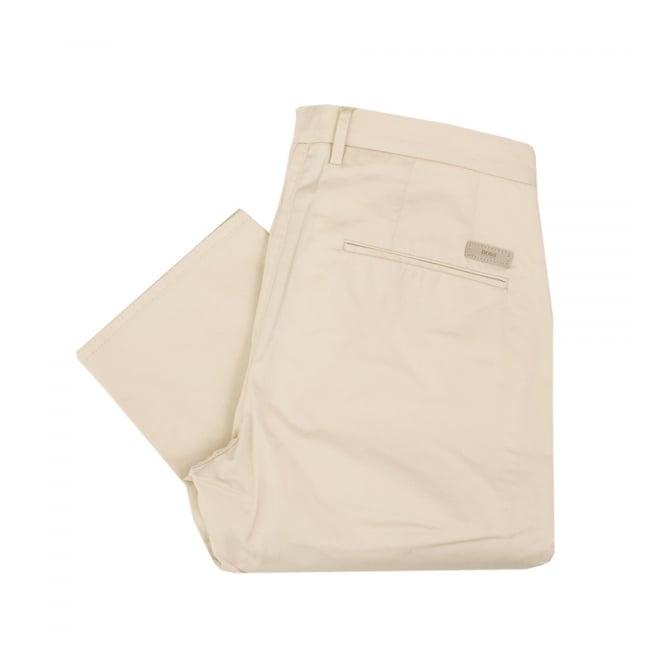 Boss Green Hugo Boss C-rice 1-1-W Medium Beige Chino Trousers 50308295