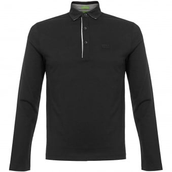 Hugo Boss C-Tivoli 1 Black Polo Shirt 50326314