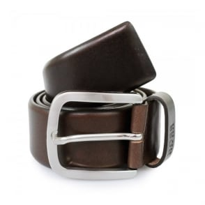 Hugo Boss Dark Brown Leather Belt 50206885