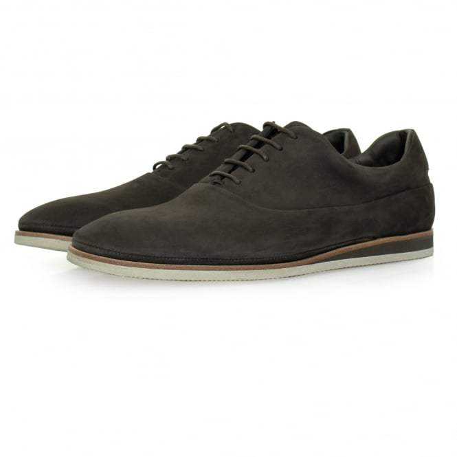 BOSS Hugo Boss Hugo Boss Eclectic Oxford Dark Brown Nubuck Shoe 50330576