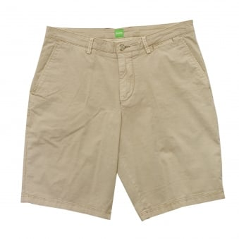 Hugo Boss Green C-Clyde 2-5-D Shorts Light Beige 50331189