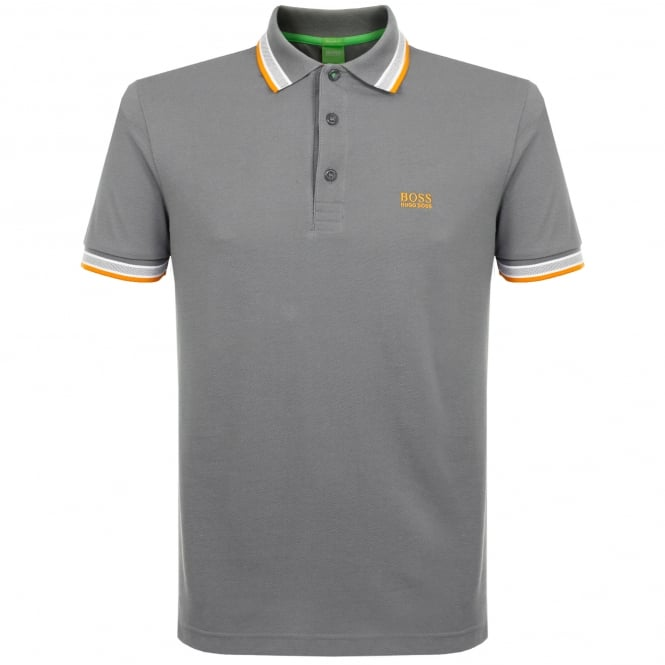 Boss Green Hugo Medium Grey Polo Shirt 50302557
