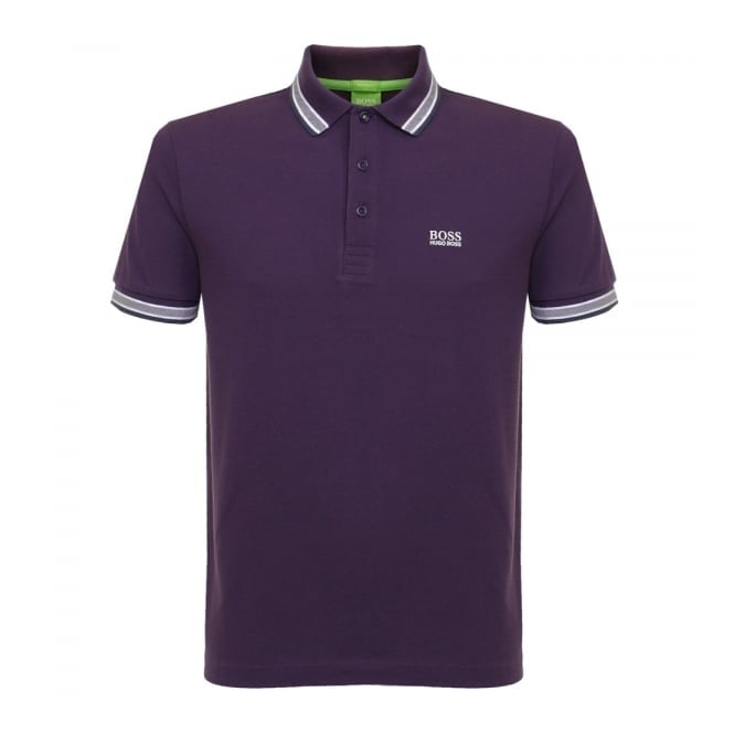 Boss Green Hugo Boss Green Paddy Dark Purple Polo Shirt 50302557