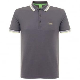 Hugo Boss Green Paddy Grey Polo Shirt 501982
