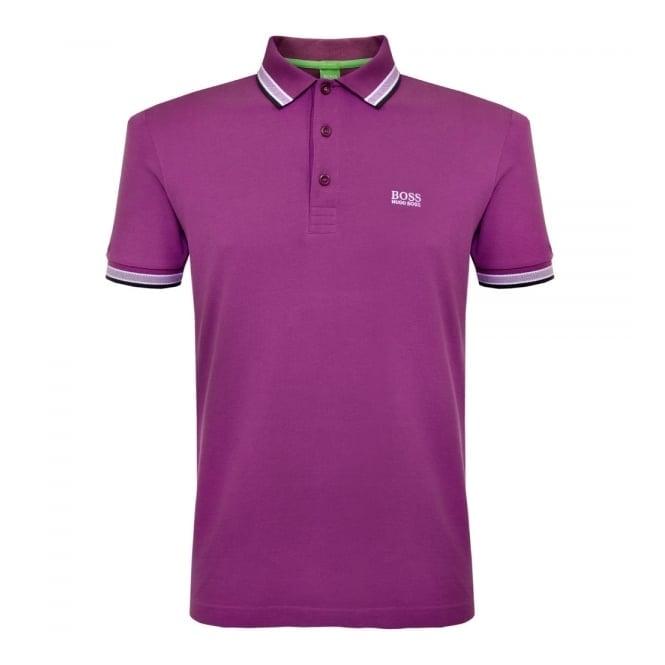Boss Green Hugo Boss Green Paddy Purple Polo Shirt 50302557