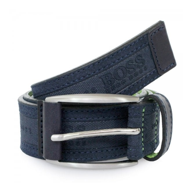 Boss Green Hugo Testio Navy Belt 50292387