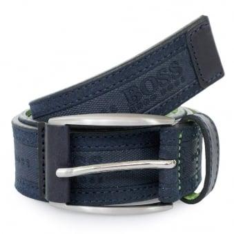 Hugo Boss Green Testio Navy Belt 50292387