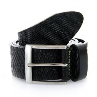Hugo Boss Green Torialo Black Belt 50213547