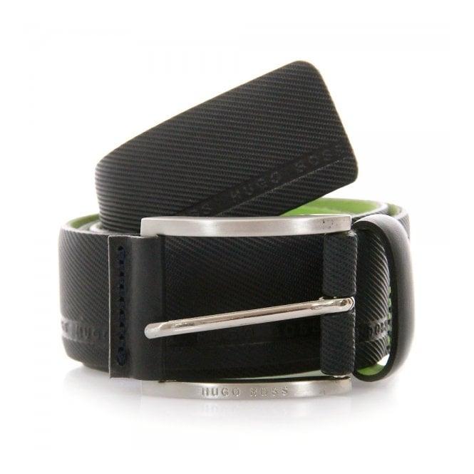 Boss Green Hugo Boss Green Tymo Cowhide Black Belt 50280785