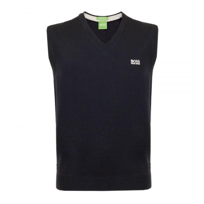 Boss Green Hugo Boss Green Vily_01 Navy Wool Slipover 50310752