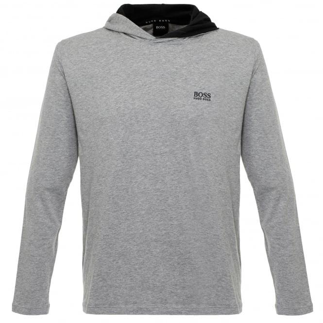 BOSS Hugo Boss Hugo Boss Hooded Medium Grey T-Shirt 50321771