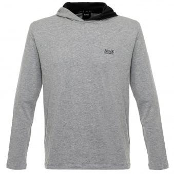 Hugo Boss Hooded Medium Grey T-Shirt 50321771
