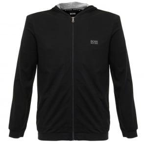 Hugo Boss Jacket Hooded Black Track Top 50297316