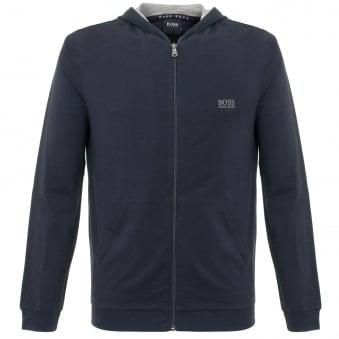 Hugo Boss Jacket Hooded Dark Blue Track Top 50297316