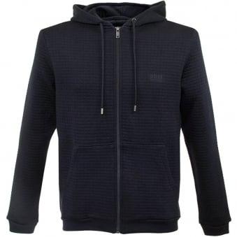 Hugo Boss Jacket Hooded Dark Blue Track Top 50302796