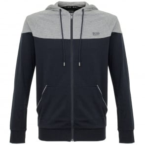 Hugo Boss Jacket Hooded Dark Blue Track Top 50321946