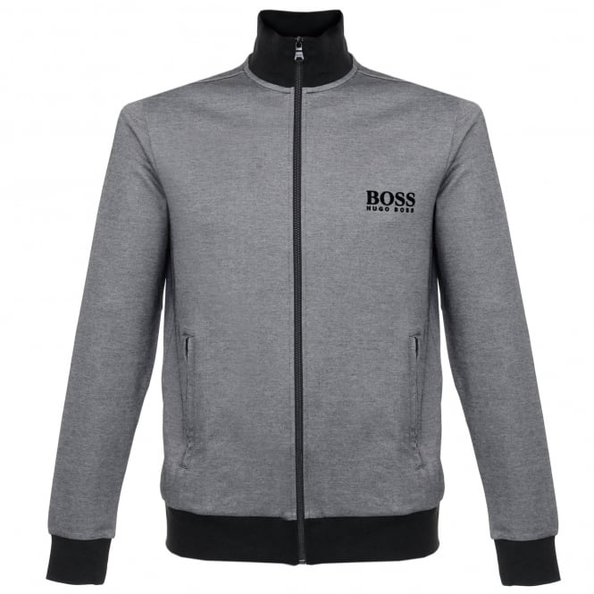 BOSS Hugo Boss Hugo Boss Jacket Zip Black Track Top 50326828