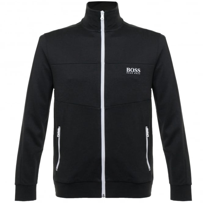 BOSS Hugo Boss Hugo Boss Jacket Zip Black Track Top 50330999