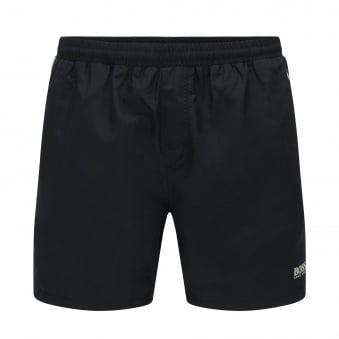 Hugo Boss Lightfish Black Quick Drying Shorts 50332388