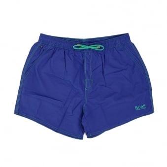 Hugo Boss Lobster Medium Blue Swim Shorts 50269486