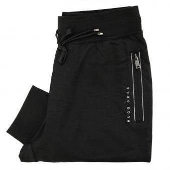 Hugo Boss Long Pant Cuff Black Track Pants 50322097